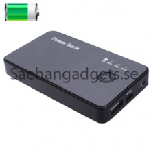 3000mAh Mobil Power Dold kamera, HD 720p, 5.0 Mega, Power Bank Mini DVR