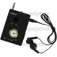Anti Spion, Audio Och Video Detektor