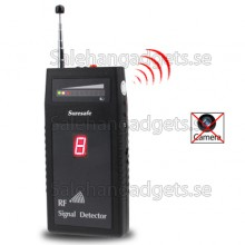 Professional RF Signal Detektor, Trådlöst Och Fast Kamera Detektor
