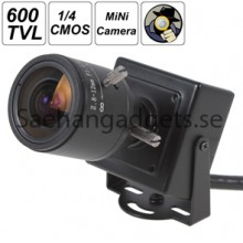 1280 x 720p 1/4 CMOS, 1.0MP Mini ONVIF, 2.0 IP-kamera Med 2.8-12mm, Manuell Zoom, P2P