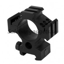 Aluminum Alloy Tri-Rail Barrel Vapen Mount, Black