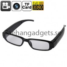 5.0 ​​Megapixel Spion Glasögon, 1080p HD, Mini DVR-Inspelare Dold kamera, Audio & Video Inspelning, Bildfunktion