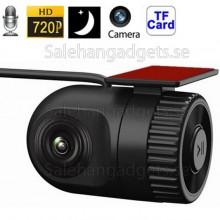 720P Traffic Recorder Miniatyrkamera, Loop Recorde, Automatisk Inspelning