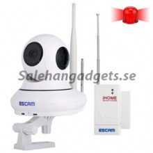 HD 720P, 1.0MP, H.264, P2P 3.6mm WiFi IR-Dome Kamera, Dual IR-cut Filter, IR: 10m