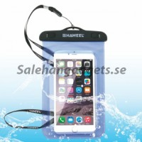 Universal Waterproof Mobil Fodral 100 mm x 170mm, Rem, IPhone, Samsung Galaxy, Flera Färger