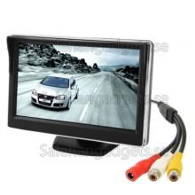 5,0 Tums LCD-Skärm Bil Färgskärm