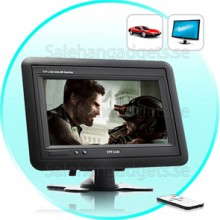 Nackstöd / Stand In-Car TFT LCD, 7 Inches-Black