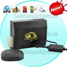 Bil Real-Time GPS Tracker, Bärbara, Dual-SIM GSM, Geo-Fence, Larmfunktioner