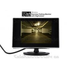 3,5 Tums Trådlöst Inre Parkering Monitor Med Nightvision Kamera