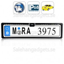 Bakifrån Kamera, Vattentät, Europeiska License Plate