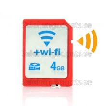 4GB WiFi SD-Kort - Överför Video Och Bilder Direkt Till Telefoner Och Bärbara Datorer