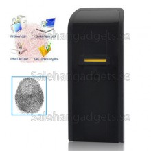 Biometrisk Fingeravtrycksläsare USB 2,0 Lösenordsskydd För PC