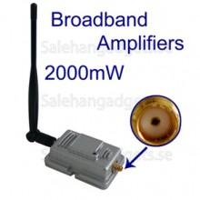 2000mW 802.11b / G WiFi Signal Booster, Bredband Förstärkare
