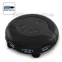 4 Port USB 3,0 HUB - Upp Till 5 Gbps