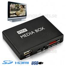 Digital Media Player För TV - HDMI & AV OUT