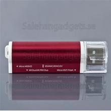 USB 2.0, TF/SD/M2/MS, Minneskortsläsare