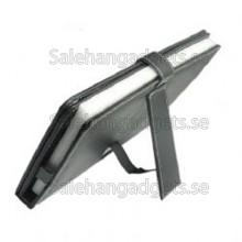 USB-Tangentbord Läderfodral Med Stylus För 10,1-Tums Tablet PC - Svart