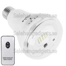 Hög Ljusstyrka Uppladdningsbar LED Lampa Med Fjärrkontroll