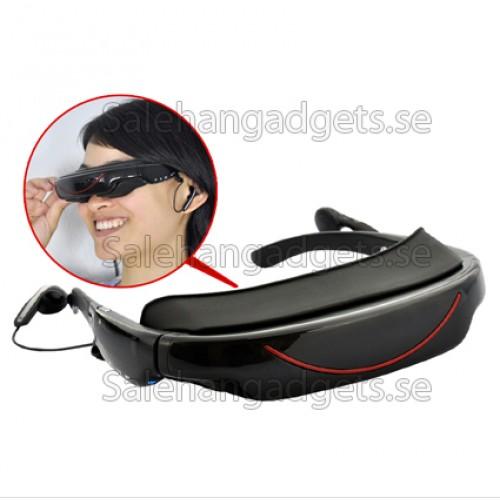 glasögon med skärm