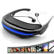 Virtuellt privat Video Glasögon, 52 Tums Widescreen Skärm