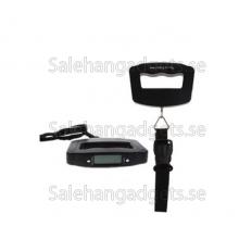 Slitstarkt Electronik Digital LCD Bagage Våg, 50kg - 10g
