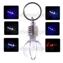LED Lampa Nyckelknippa, Söt Nyckelring Med Färgglada Ljus