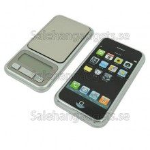Mini Digital Våg I Mobil Form, 1000g - 0,1
