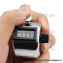 4 Digit Manuell Hand Klicka Räknare
