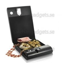 Exekutiv Biometrisk Fingeravtrycksläsare, Bärbar Säkerhets Box