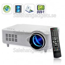 LED Multimedia Projektor, DVB-T, HDMI, VGA, AV