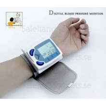Digital Blood Pressure Monitor - Kompakt Och Bärbar