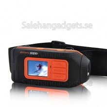 HD - 1080p High Definition Sports Action Kamera Med LCD