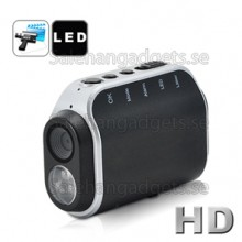 Mini Multifunktionell DVR, Led Lampa, Gasdetektor, 4GB