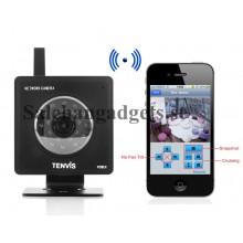 Mini WiFi IP-Kamera - 640x480, 1/4 Tums Färg CMOS-Sensor