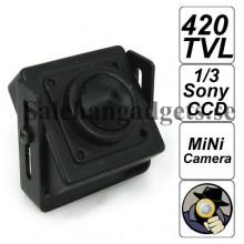 420 TV Linje 1/3 Sony CCD Miniatyr Kamera