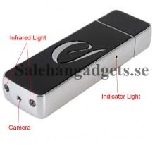 Spionkamera, Mörkerseende, U-Disk, 720p HD