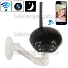 WIFI Digital Trådlös Kamera För Mobil, 24 Timmar Realtid Monitor ( Svart )