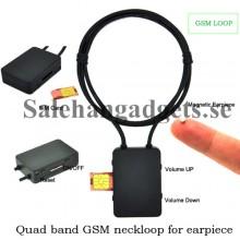 Quad-Band GSM Halsslinga Och Magnet Hörsnäcka