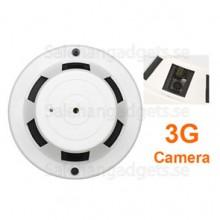 3G Rökdetektor Videokamera, Fjärrkontroll Påkoppling