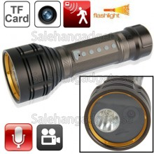 Ficklampa DVR, Rörelsedetektor, Automatisk Inspelning, Ljudinspelning