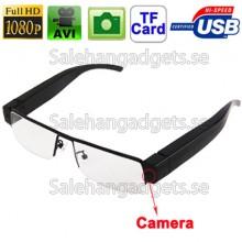 Spionglasögon, 1080p HD, 5,0 Megapixel Digitalkamera