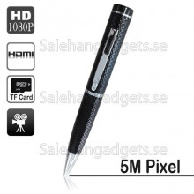 1080p HD 5.0m Pixels Digita Spion Penna, Audio Video Recorder, Motion Detection