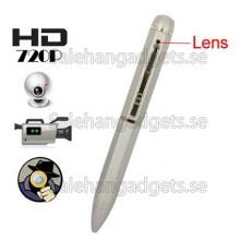 Spionkamera Penna, 8GB, HD 720P, Ren Koppar