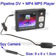 Pipeline DV Video Recorder Spionkamera + MP4 MP5 Spelare, 2 GB
