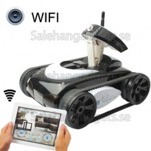 Trådlös Wifi RC I-Spy Tank, Rörlig Kamera - Styrs Av IPhone IPad IPod