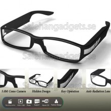 5 Megapixel HD 1080p Glasögon SpionKamera, Kamera DVR