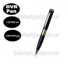 Spion Pen Kamera Dold Videobandspelare DVR, Spy Camcorder, 1280P HD 30fps