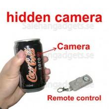 Coca-Cola Zero Burk Spionkamera, DVR, Fjärrkontroll (4 GB)