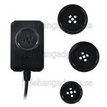 1/3 Tums Färg CMOS Med Ljud Mini Knapp Spionkamera