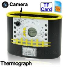 Pen Hållare Spionkamera, GSM, Fjärrstyrning Via Mobil